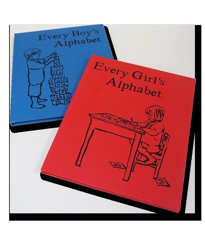 Alphabet books Boys and Girls
